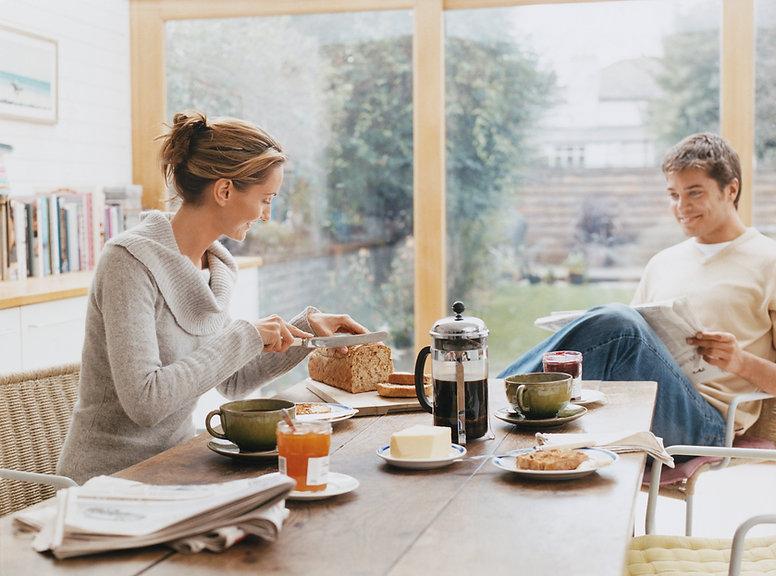 Desayuno en casa