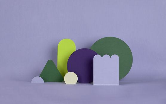 Paarse papierstructuren