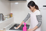 Cleaning your kitchen with Zoflora
