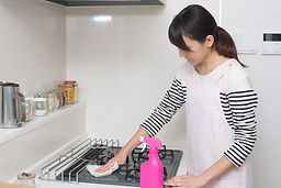 Cleaning a Stove