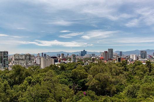 Vista desde el parque