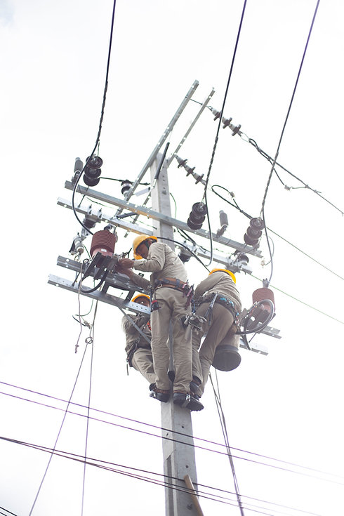 Electricians on Post