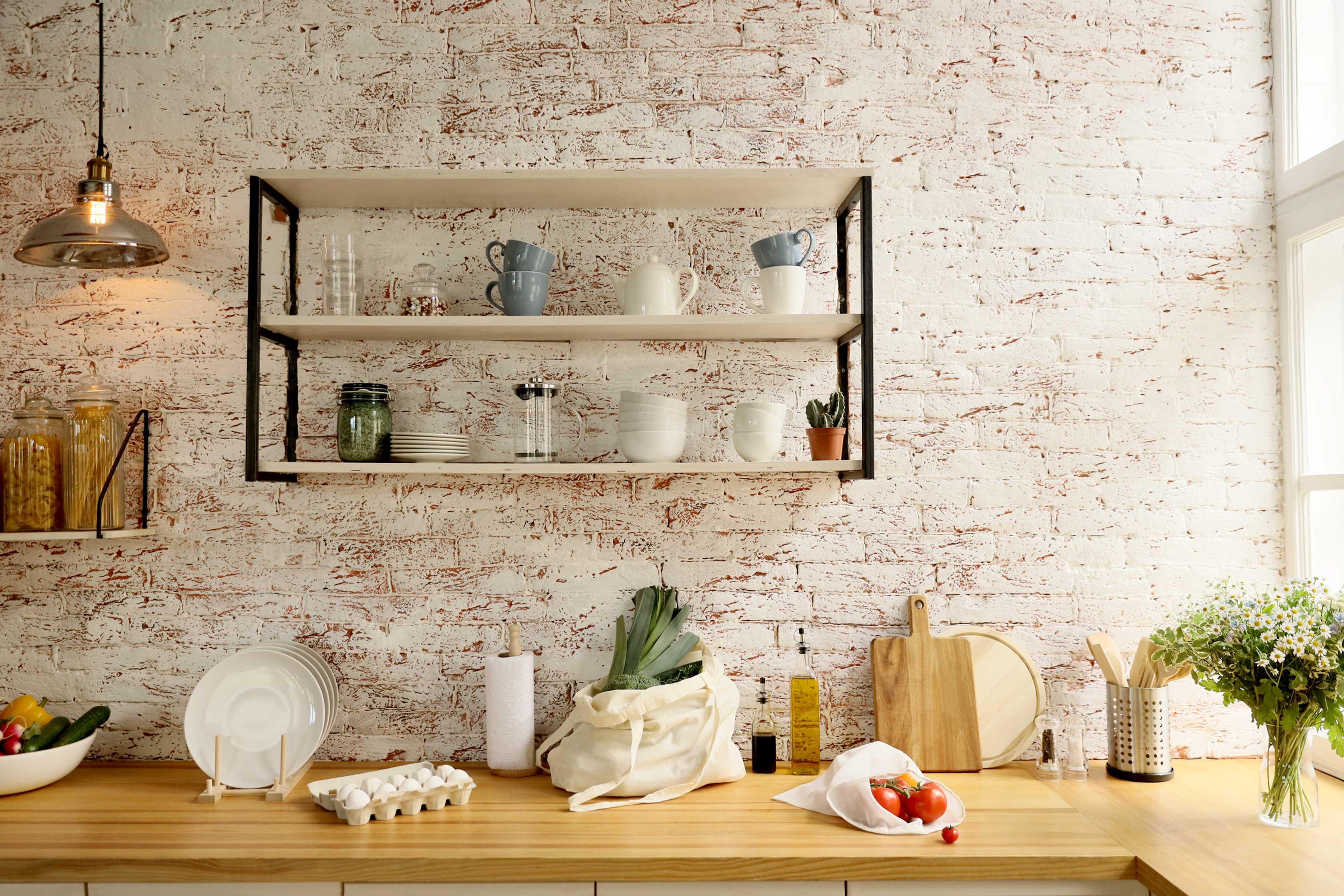 shelves with custom furniture in calgary
