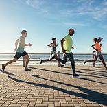 Courir à la plage