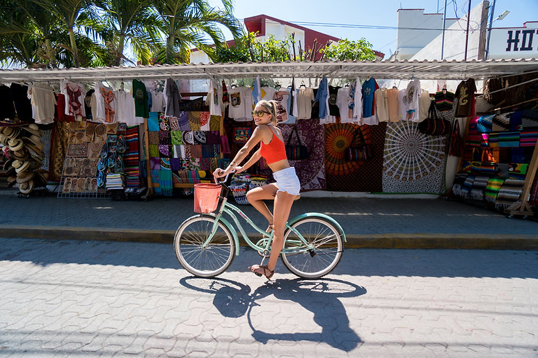 On a Bike