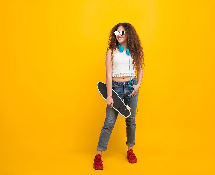 Cool Skater Girl