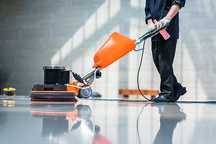 Floor Cleaner in medical facility