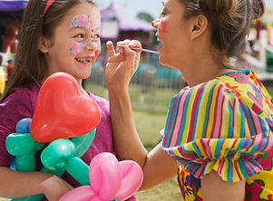 Face Painting in Darwin