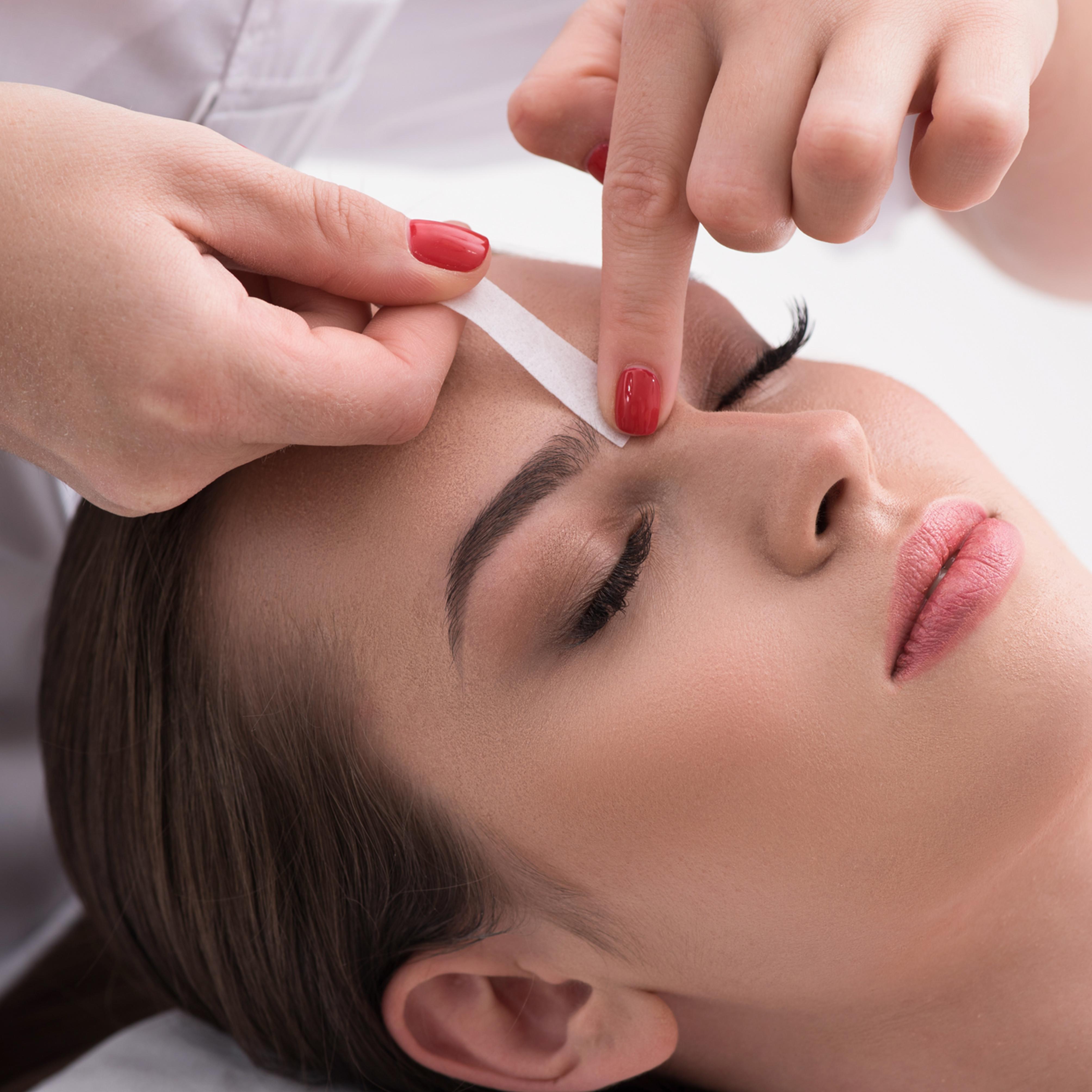 Waxing Hair Removal Service - Facial Wax