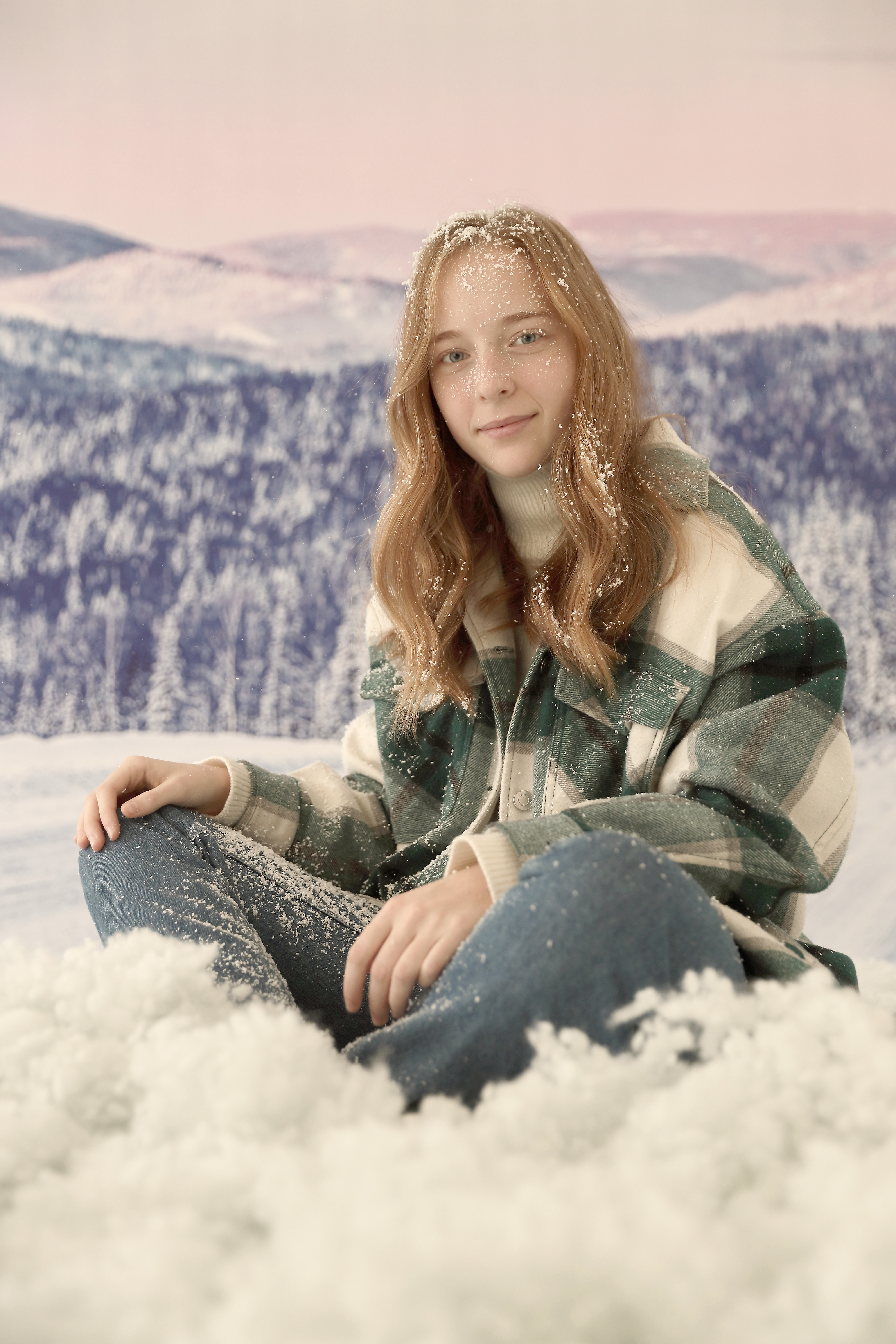 Schneehasenshooting