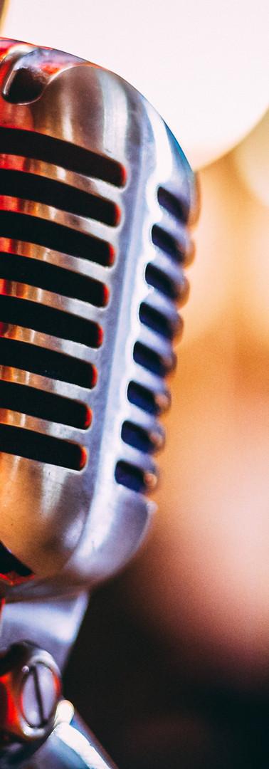 Microphone rétro