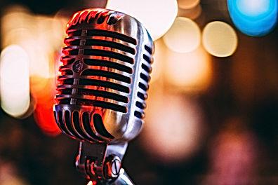 Retro microfono