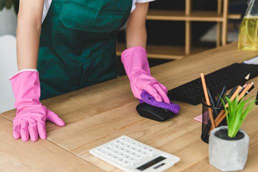 Limpiar el escritorio