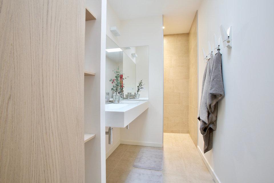 Salle de bain minimale
