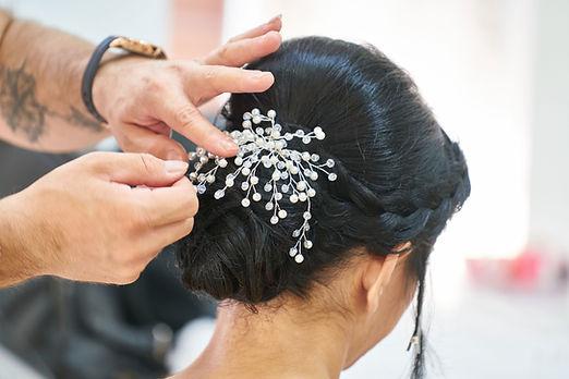 Ausgefallene Haarspange