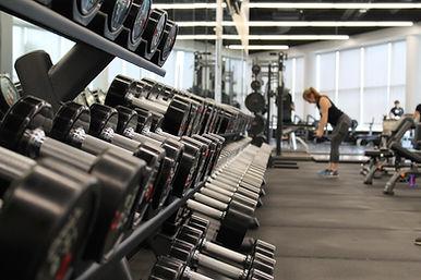 Modernes Fitnessstudio