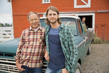 Bauer und Sohn