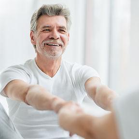 Fedcare, Dr. Federica Priano, Active Senior Man