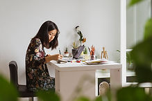 Painter Illustrating