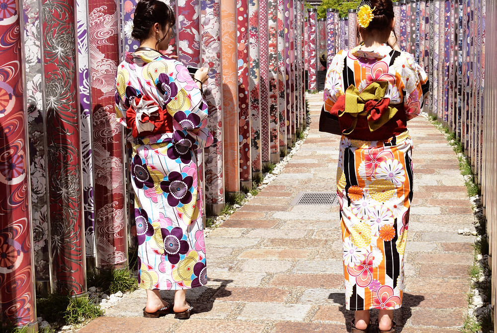 buying your first kimono from japan