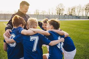 Entrenador de fútbol para niños ' s
