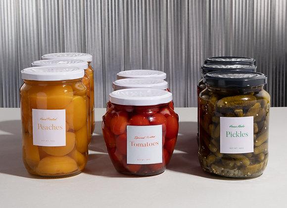 Conservas, semiconservas y salsas
