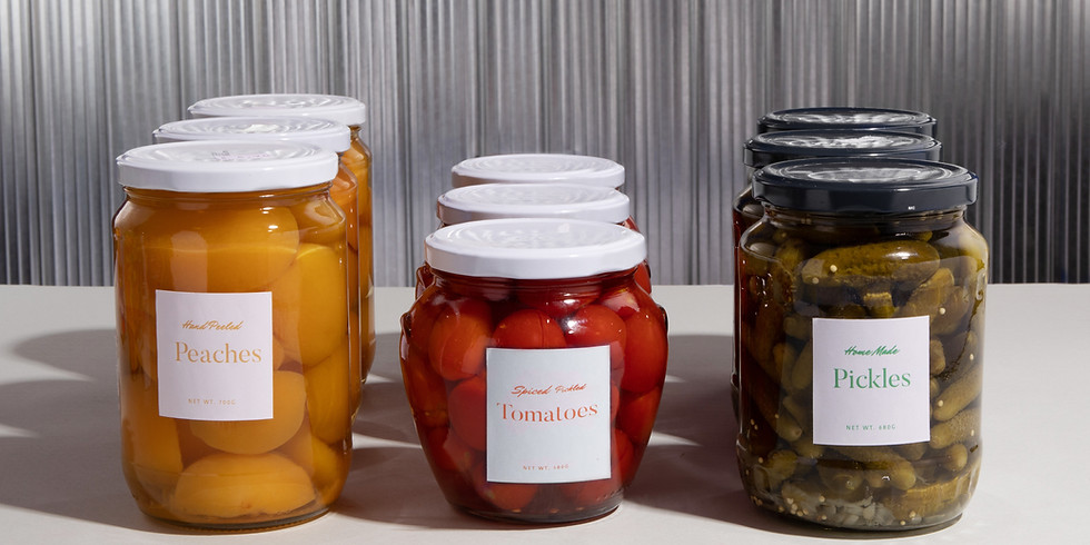 Canning and Preserving Summer Veggies