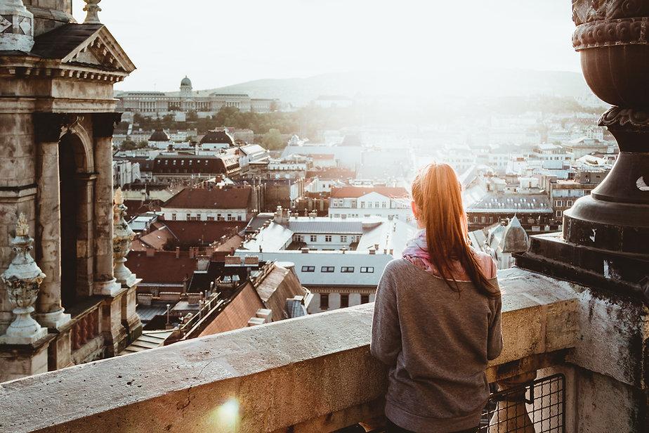 Balcón con vista