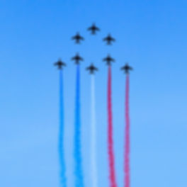 Spectacle d'aviation