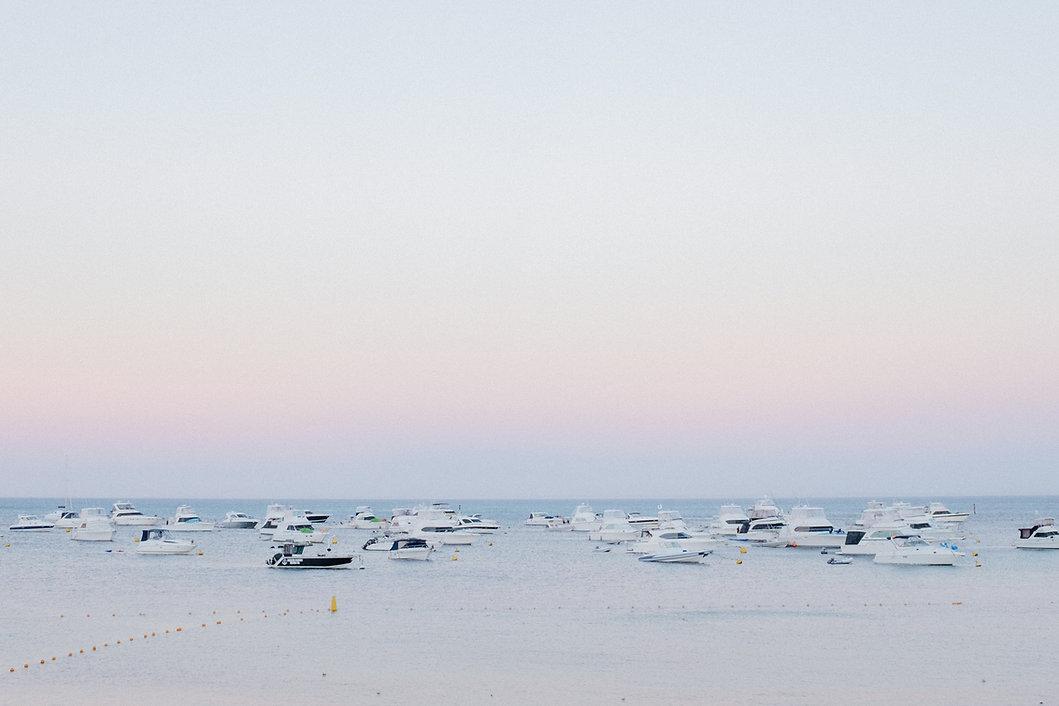 Yachts in th Ocean