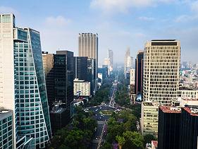 Edifícios altos no México