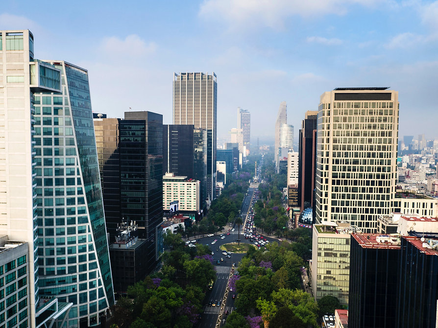 Tall Buildings in Mexico