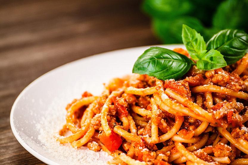 K & M Menu-Baked Spaghetti