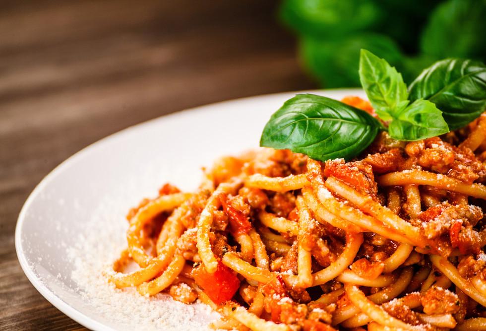 意大利面配新鲜番茄