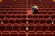 Limpeza do estádio