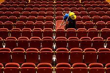 Limpieza del estadio