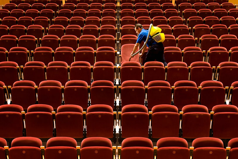 Stadium Cleaning