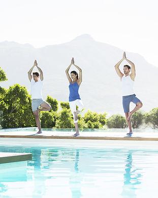 Йога для бассейна