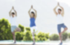 Pool Yoga Class