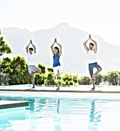 Pool yogaklass