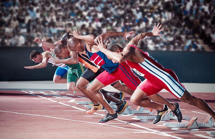 Läufer abheben