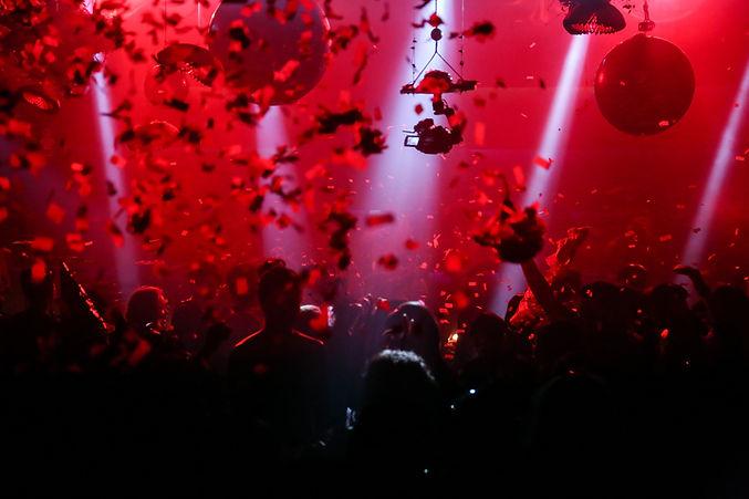 赤いライト
