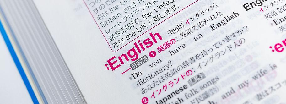 Dizionario Inglese Giapponese