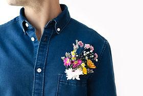 Flowers and Denim