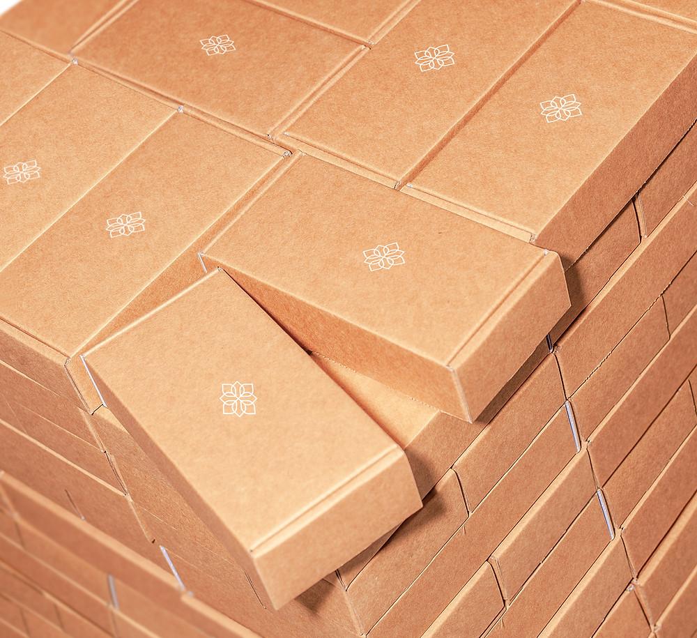 baskılı e-ticaret kutusu