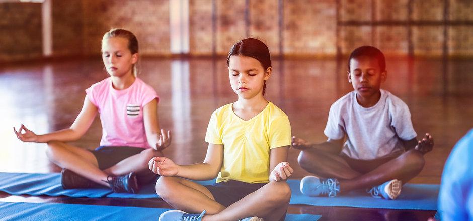 méditation à  l'école