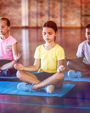 Children Meditating