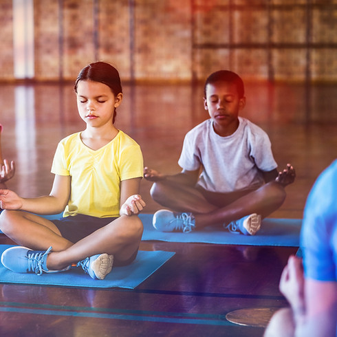 Relaxing Yoga and Mindfulness for Kids - Grades 4-8 - APR