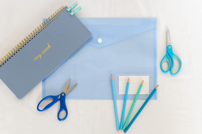Blue Theme Stationery