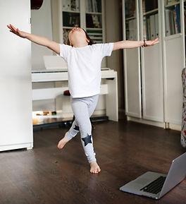 Kid Dancing at Home